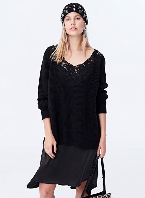 Ipekyol Çift Parça Görünüm Elbise Siyah